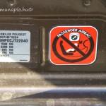 Alvázszám Automobiles Peugeot