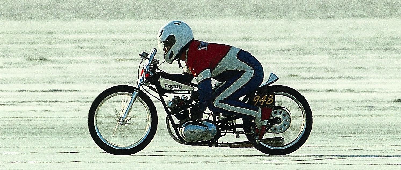triumph-tiger-cub-1956-speed-record-salt-lake