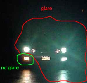 xenon-glare-ragyogás