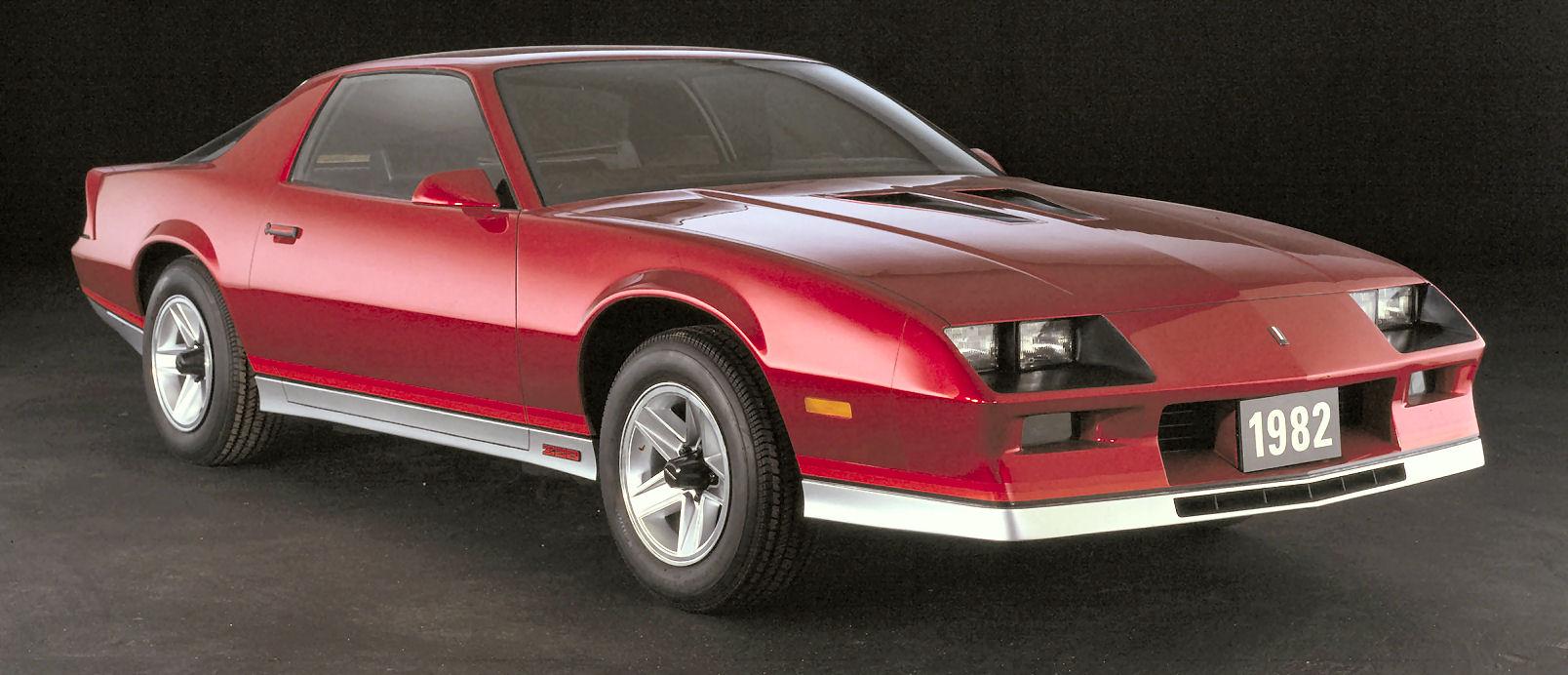Chevrolet-Camaro-3rd-generation-1982