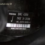 Mazda szervodob a fékrendszerhez - Made in China - Több üzemegysége is van a márkának Kínában.