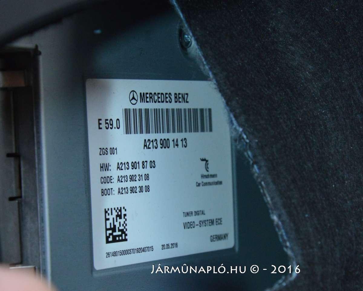 mercedes-e-class-s213-suppliers-hirschmann-communication-ecu